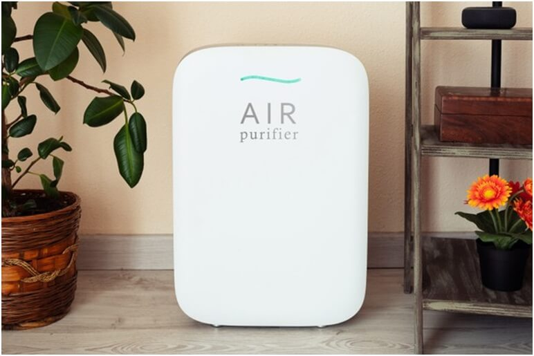 How does an air purifier operate